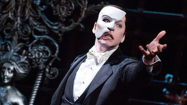 Broadway öppnar för Fantomen på Operan