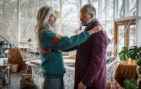 Då har Agatha Christies Hjerson premiär. Foto: TV4/C More/Johan Paulin