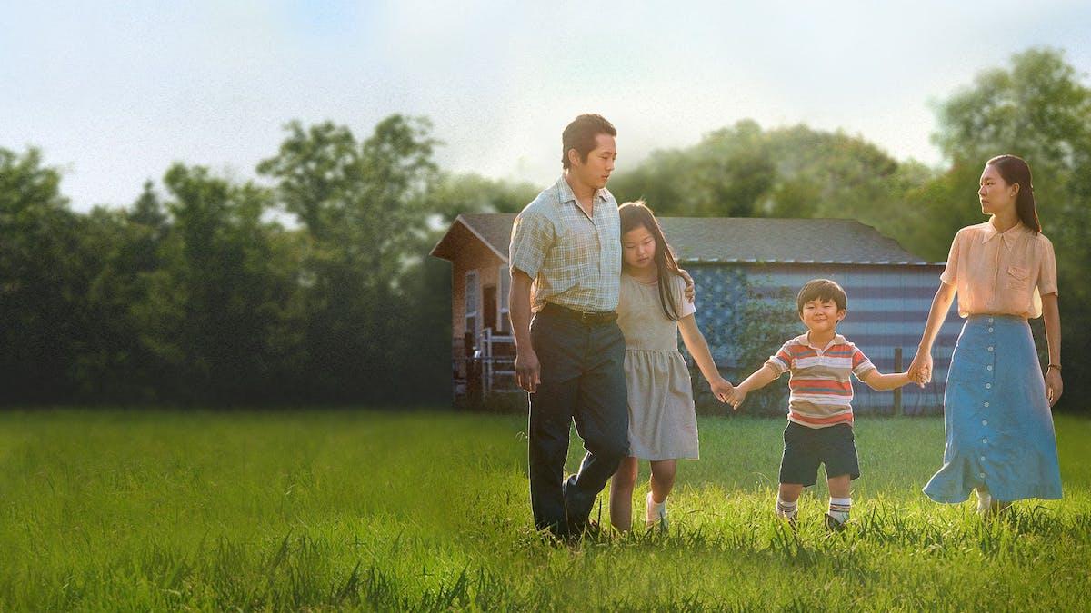 Familjen i filmen Minari. Foto: A24