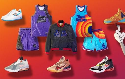 Ny Space Jam-poster – och Nike-kläder