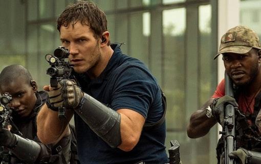 Chris Pratt i The Tomorrow War. Foto: Amazon Prime