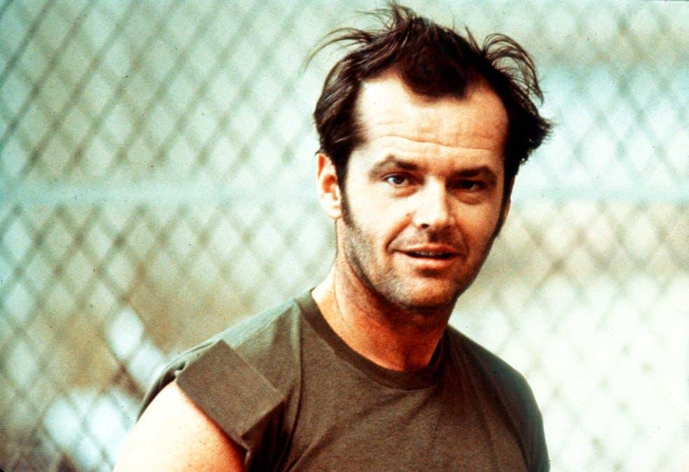 Jack Nicholson i Gökboet