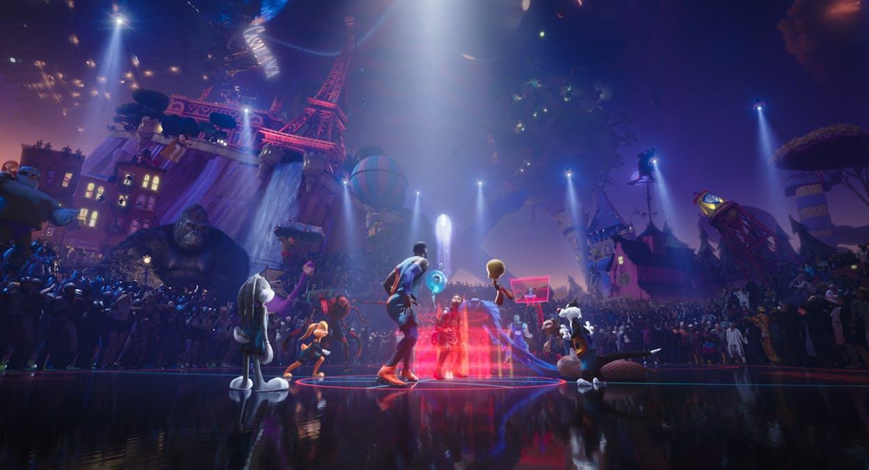 Bild från filmen Space Jam: A New Legacy. Foto: Warner Bros.