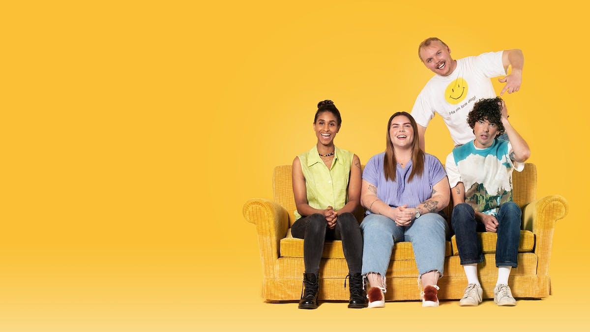Premiär för komediserien Hallberg på SVT Play