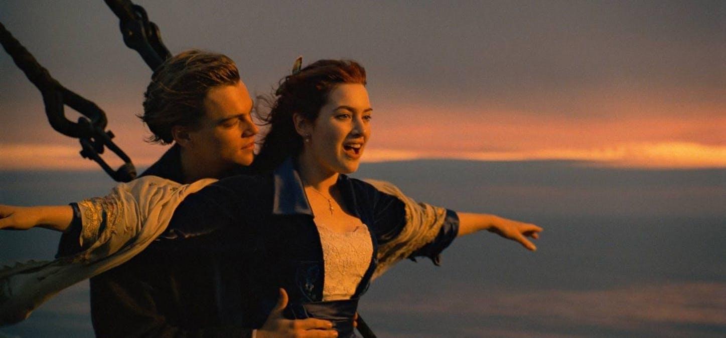Leonardo DiCaprio och Kate Winslet i Titanic. Foto: 20th Century Fox.