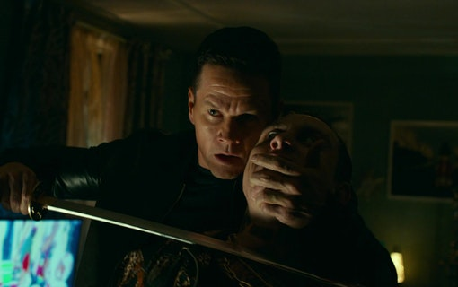 Bild på Mark Wahlberg i filmen infinite (2021). Foto: Paramount Pictures