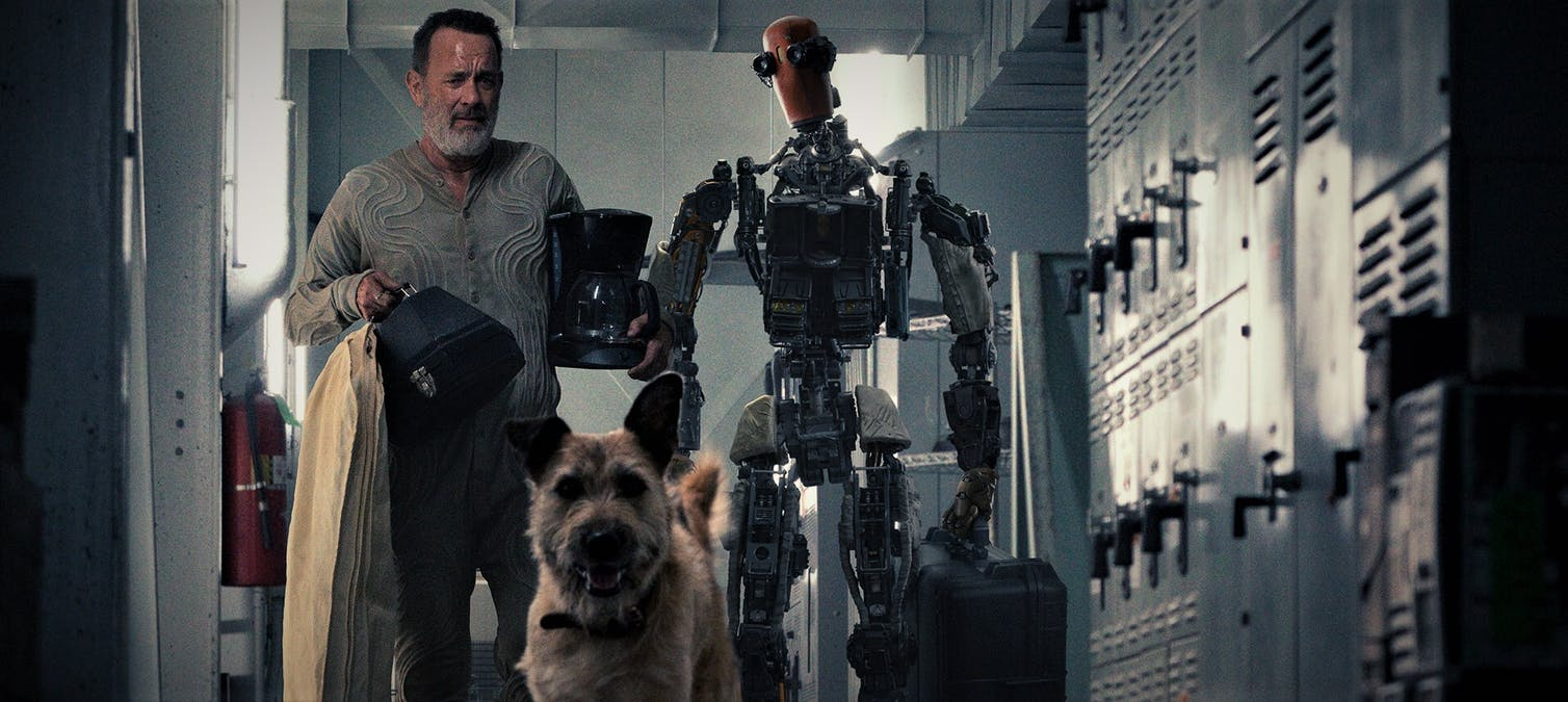 Se Tom Hanks i trailern till Finch