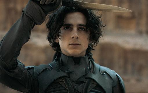 Bild på Timothée Chalamet som Paul Atriedes i filmen Dune. Foto: Warner Bros