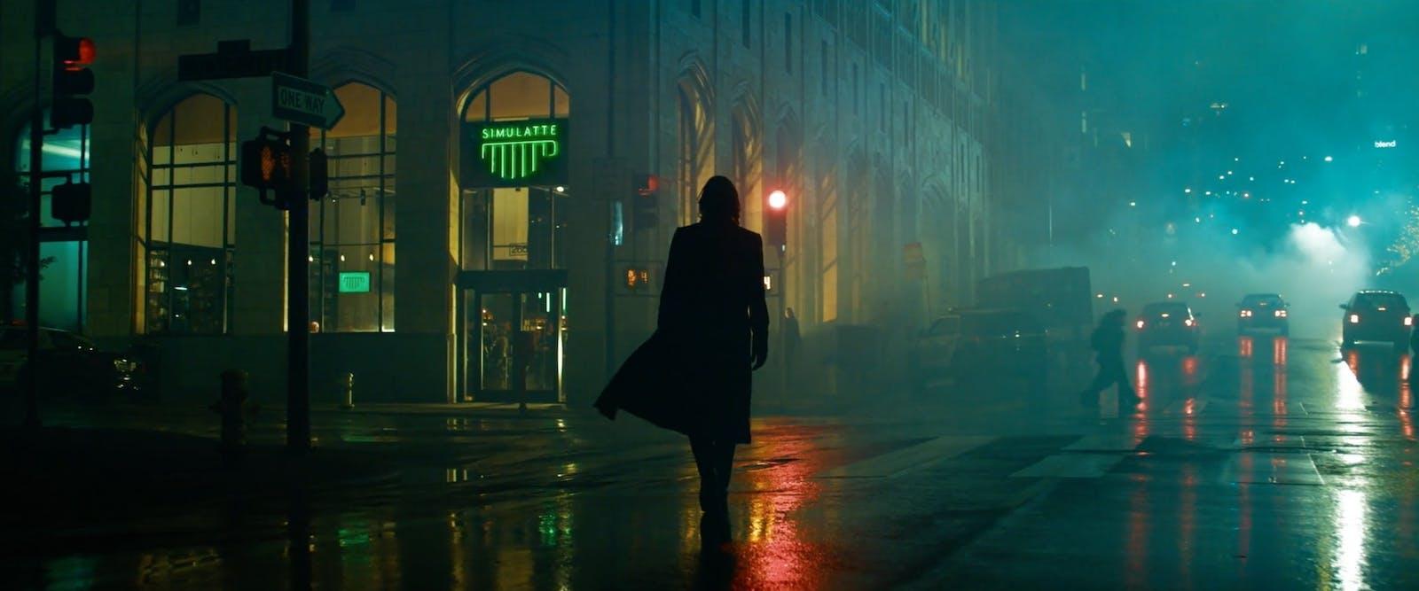 Se de första bilderna från Matrix 4