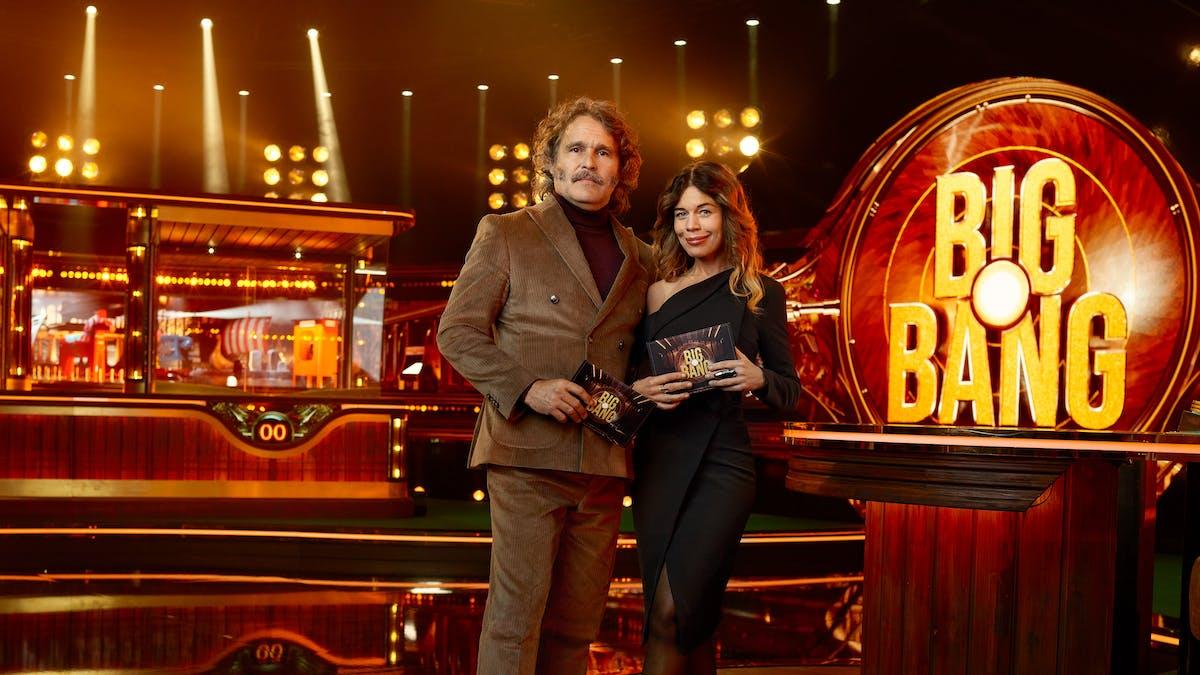 Premiär för Big Bang med Erik och Lotta