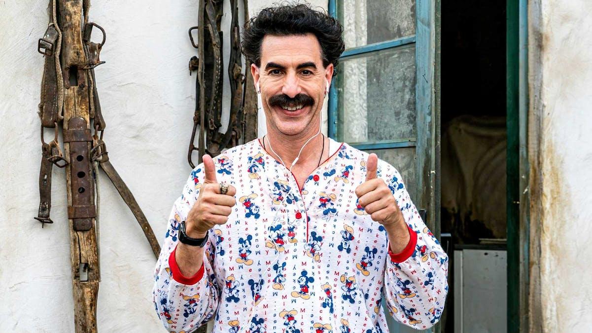 Vi har sett galningen Borats nya film!