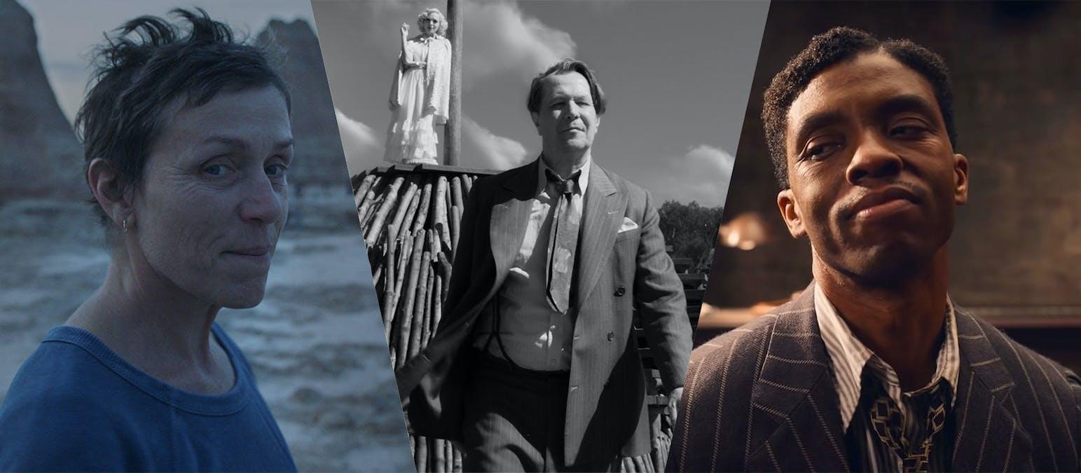 Oscars 2021 Collage